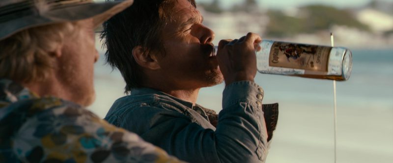 Captain Morgan Rum Bottle in 24 Hours to Live (2017) Movie Product Placement