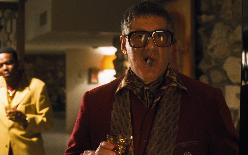 Caviar Goliath Big Frame Eyeglasses Worn by Elliott Gould in Ocean's Eleven (1)