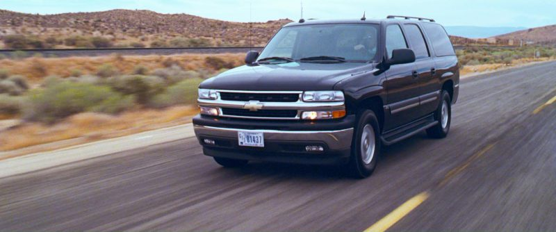 Chevrolet Suburban Car in Ocean's Thirteen (2007) Movie Product Placement