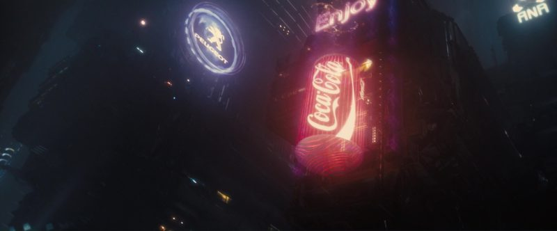 Peugeot and Coca-Cola in Blade Runner 2049 (2017) - Movie Product Placement