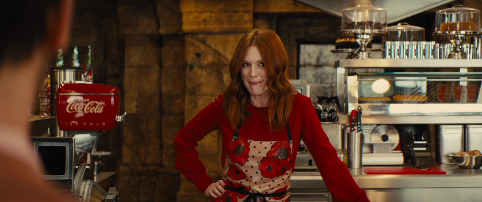 Coca-Cola and Julianne Moore in Kingsman 2: The Golden ...