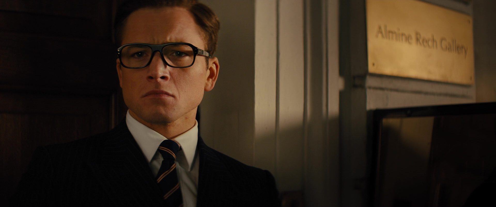 35c9a807b10 Cutler And Gross Tortoiseshell Acetate Square-Frame Optical Glasses Worn by  Taron Egerton in Kingsman 2  The Golden Circle (2017)
