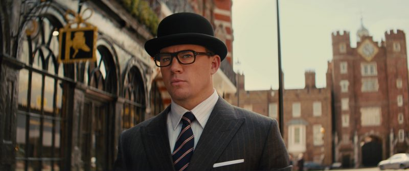 Cutler And Gross Optical Glasses Worn by Channing Tatum in Kingsman 2: The Golden Circle (2017) Movie Product Placement