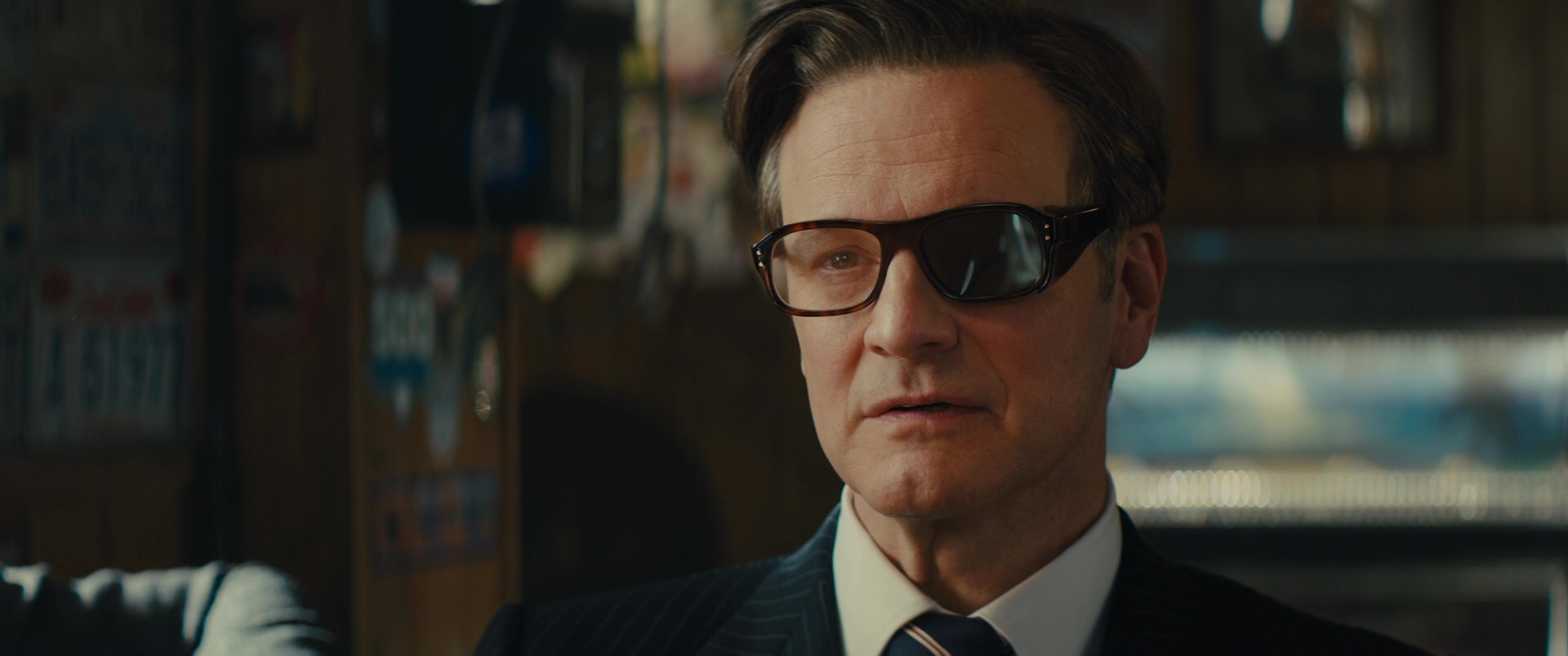df85730cc81 Cutler And Gross Square-Frame Tortoiseshell Acetate Optical Glasses Worn by  Colin Firth in Kingsman
