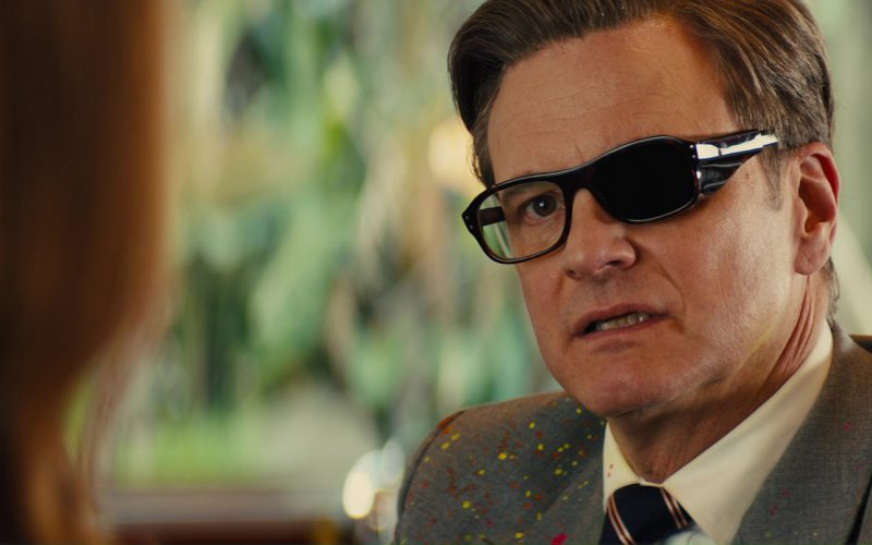 Cutler And Gross Square-Frame Tortoiseshell Acetate Optical Glasses Worn by Colin Firth in Kingsman The Golden Circle (4)