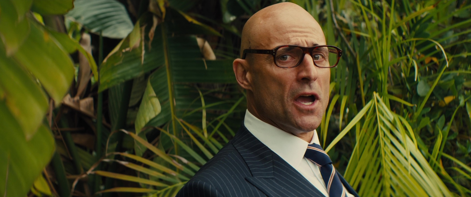 3012a7b46c0 Cutler And Gross Square-Frame Tortoiseshell Acetate Optical Glasses Worn by  Mark Strong in Kingsman