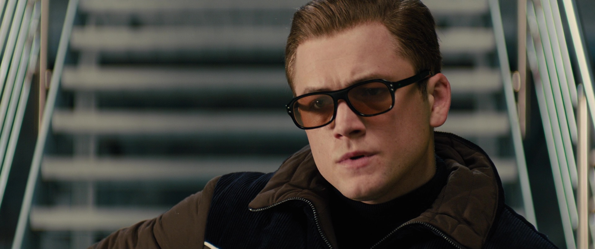 321af0a32e Cutler And Gross Square-Frame Tortoiseshell Acetate Sunglasses Worn by  Taron Egerton in Kingsman 2