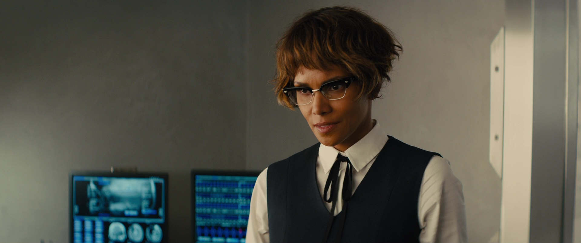 d8630f2d30e Cutler and Gross Cat-Eye Frame Acetate Glasses Worn by Halle Berry in  Kingsman 2  The Golden Circle (2017)