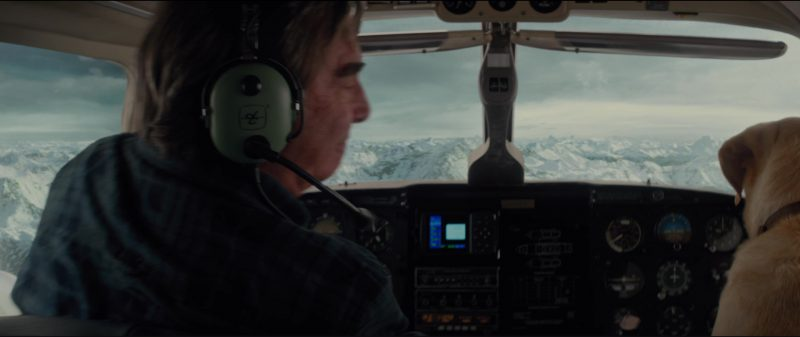 David Clark Headsets Used by Beau Bridges in The Mountain Between Us (2017) Movie Product Placement