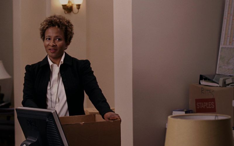 Dell Monitor And Staples Box in Evan Almighty (1)