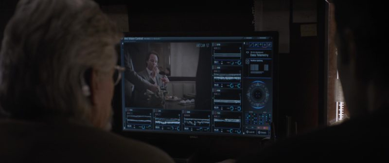 Dell Monitor Used by Paul Rudd and Michael Douglas in Ant-Man and the Wasp (2018, Marvel Studios) - Movie Product Placement