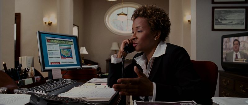 Dell Monitor Used by Wanda Sykes in Evan Almighty (2007) - Movie Product Placement