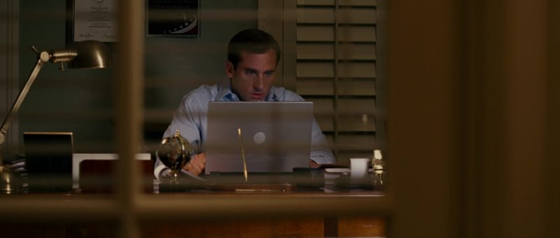 Dell Notebook Used by Steve Carell in Evan Almighty (2007) Movie Product Placement