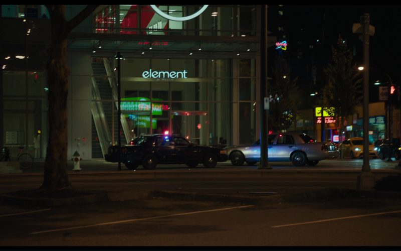 Element by Westin Hotel in Killing Gunther (2017)