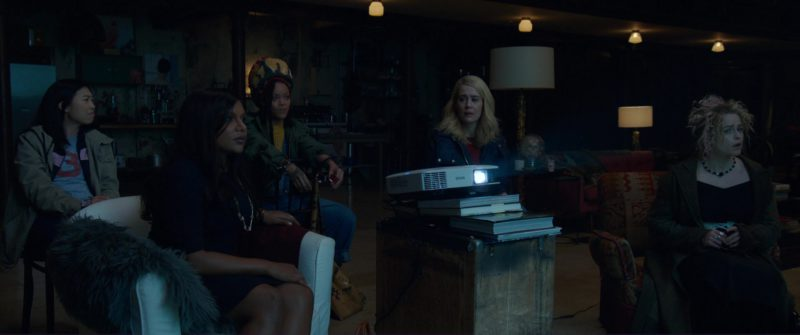 Epson Projector in Ocean's 8 (2018) Movie Product Placement