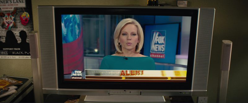 Fox News TV Channel in Kingsman 2: The Golden Circle (2017) Movie Product Placement