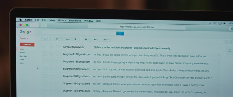 Gmail Email in Love, Simon (2018) - Movie Product Placement