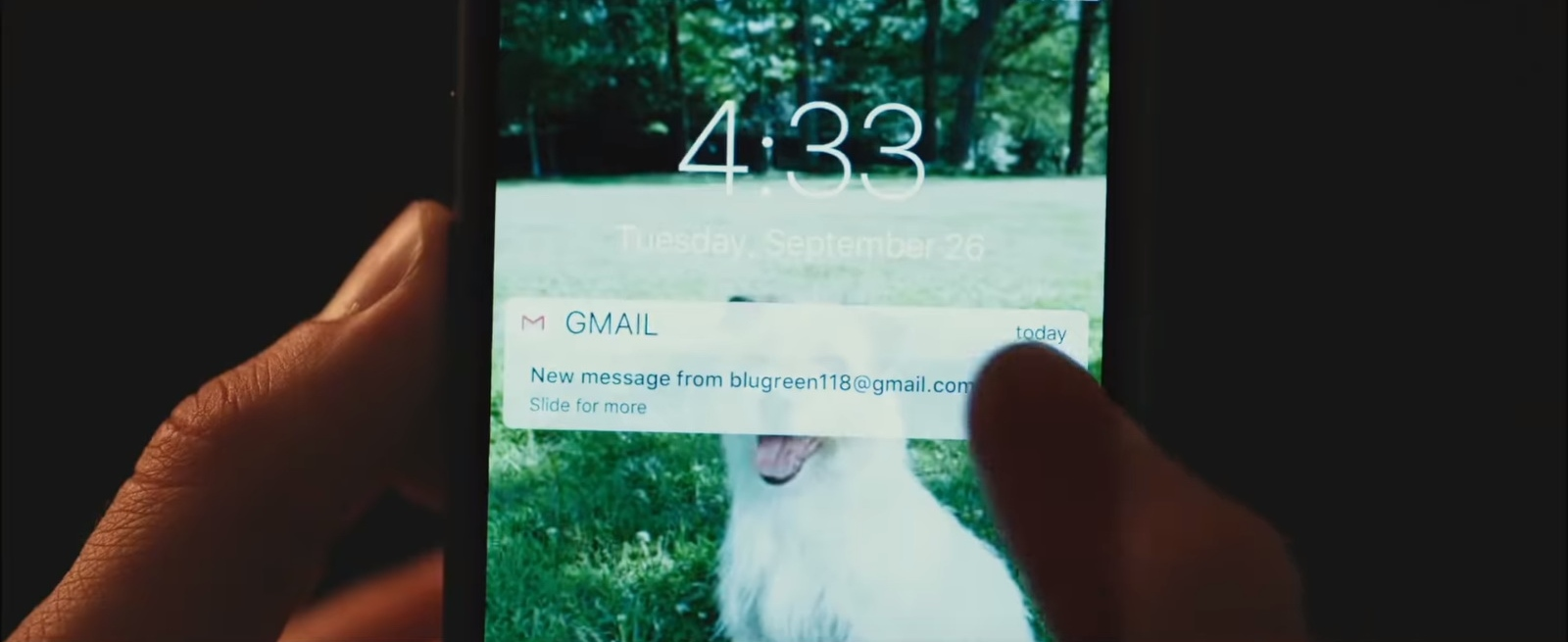 gmail email in love simon 2018 movie