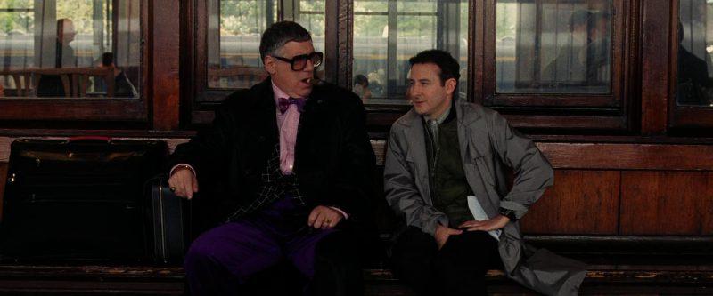 Goliath Eyeglasses Worn by Elliott Gould in Ocean's Twelve (2004) - Movie Product Placement