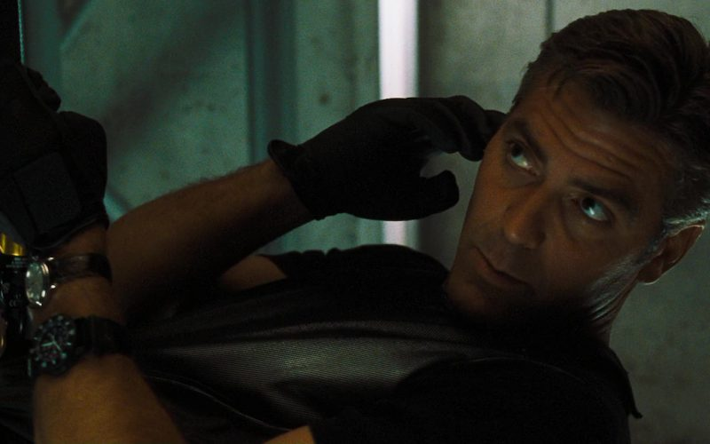 Hamilton Linwood Viewmatic and Luminox Watches Used by George Clooney in Ocean's Eleven (1)