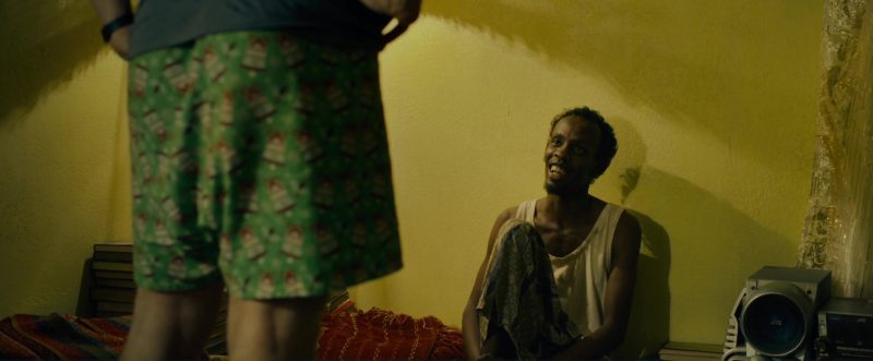 JVC Boombox Used by Barkhad Abdi in The Pirates of Somalia (2017) - Movie Product Placement