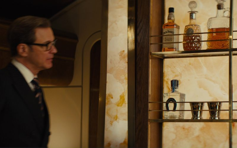 Jack Daniel's and Tequila Herradura in Kingsman The Golden Circle (1)