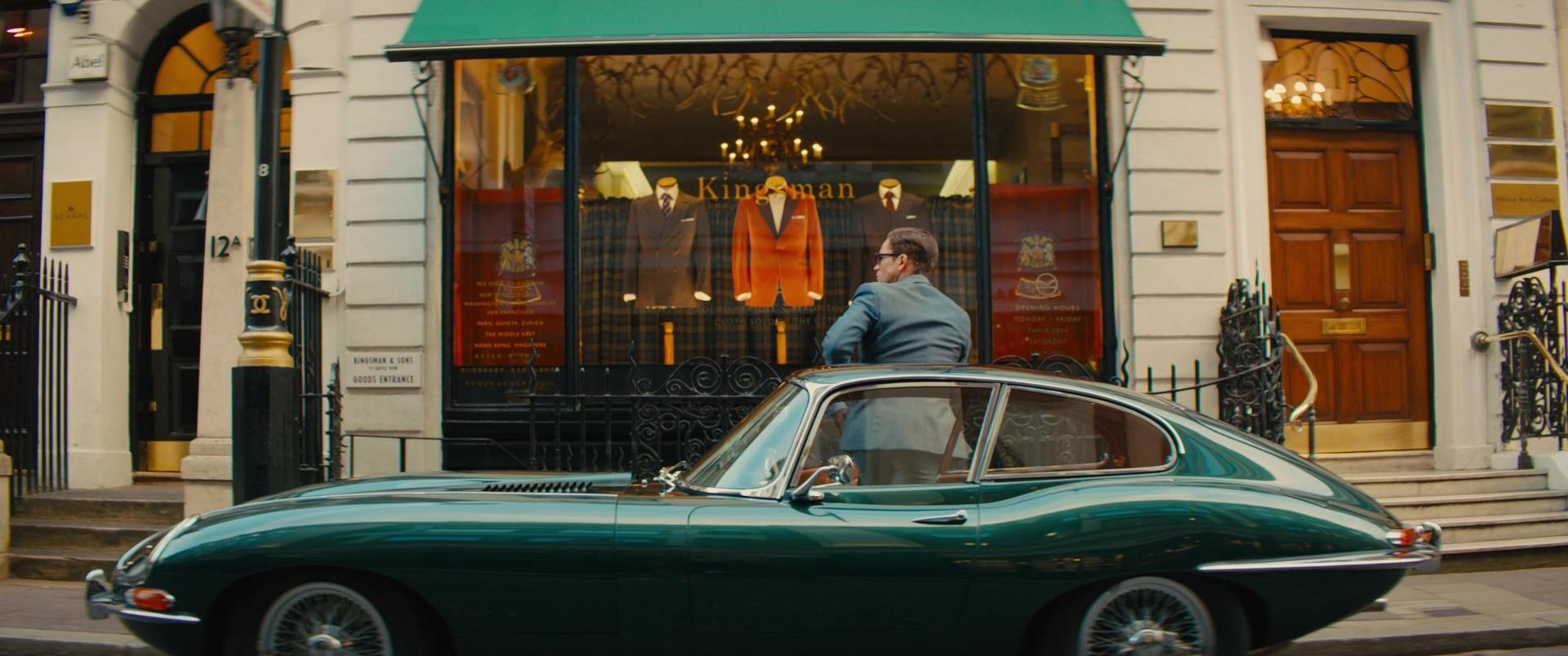 Capital Car Shows >> Jaguar E-Type (1964) Retro Car Used by Taron Egerton in Kingsman 2: The Golden Circle (2017) Movie
