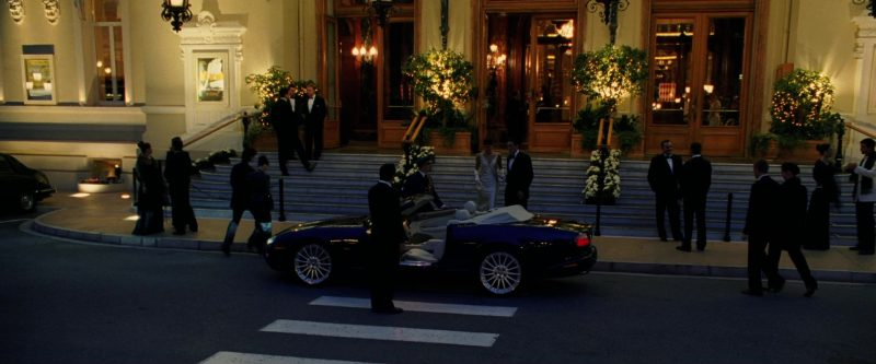 Jaguar XKR [X100] Car Used by Vincent Cassel in Ocean's Twelve (2004) Movie Product Placement