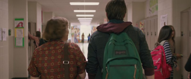 JanSport Right Pack Backpack Used by Nick Robinson in Love, Simon (2018) Movie