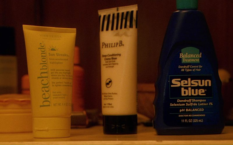 John Frieda Beach Blonde Sun Streaks, Philip B., Selsun Blue Dandruff Shampoo in Ocean's Twelve