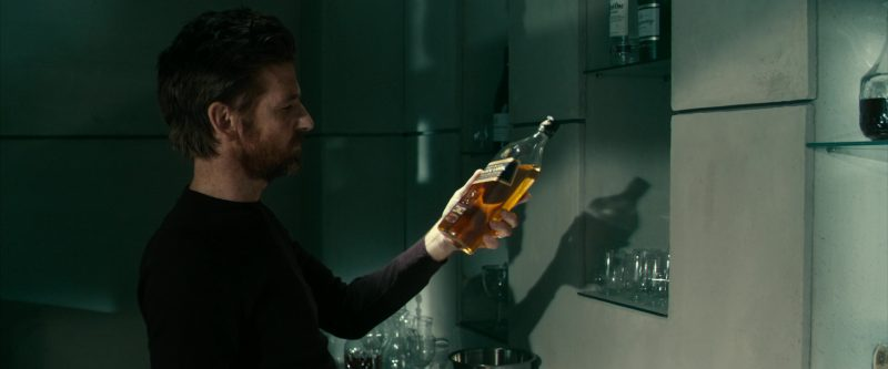 Johnnie Walker Black Label Scotch Whisky Bottle in 24 Hours to Live (2017) Movie Product Placement