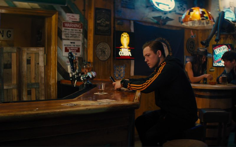 King Cobra and Bud Light Neon Signs in Kingsman The Golden Circle