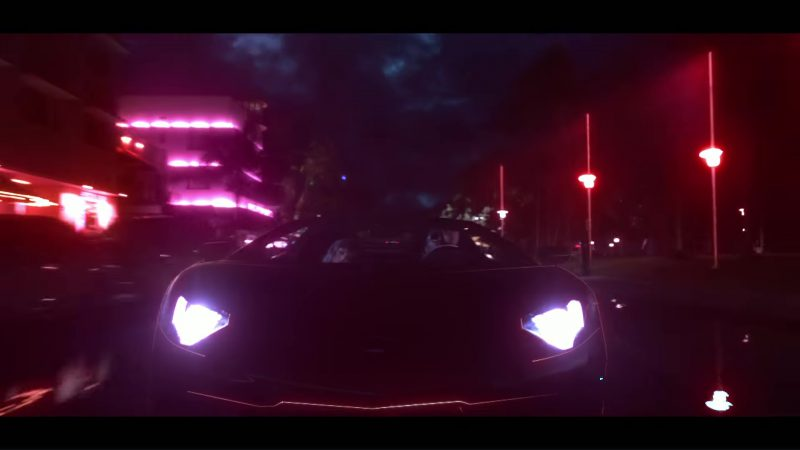 Lamborghini Aventador in End Game by Taylor Swift ft. Ed Sheeran, Future (2018) - Official Music Video Product Placement