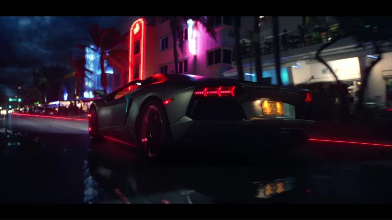 Lamborghini Aventador in End Game by Taylor Swift ft. Ed Sheeran, Future (2018) Official Music Video Product Placement