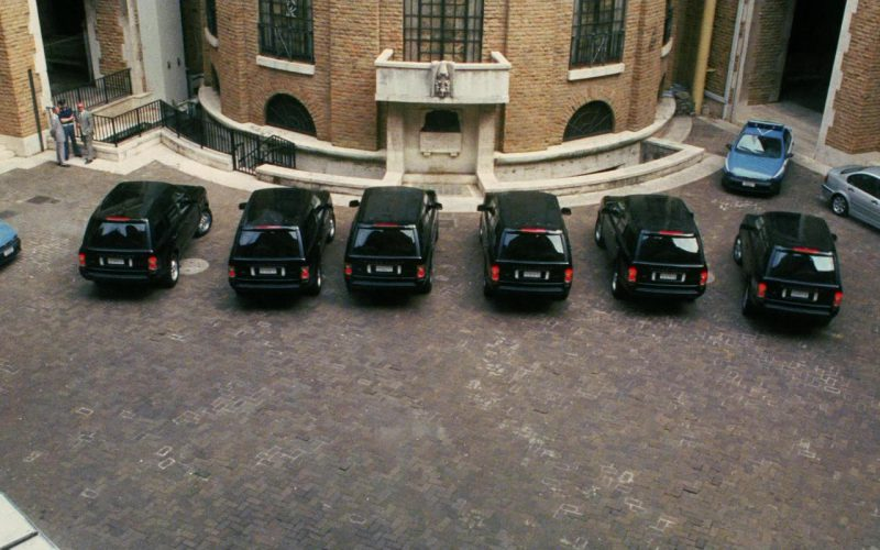 Land-Rover Range Rover Series III Cars in Ocean's Twelve (1)