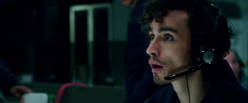Logitech Headsets Used by Robert Sheehan in Geostorm (2017) Movie Product Placement