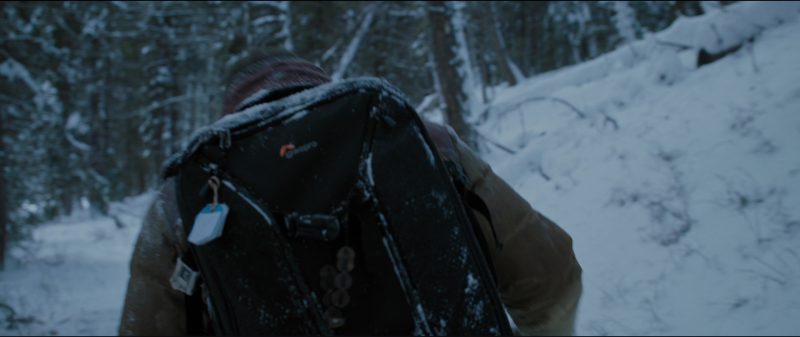 Lowepro Backpack Used by Kate Winslet and Idris Elba in The Mountain Between Us (2017) Movie Product Placement