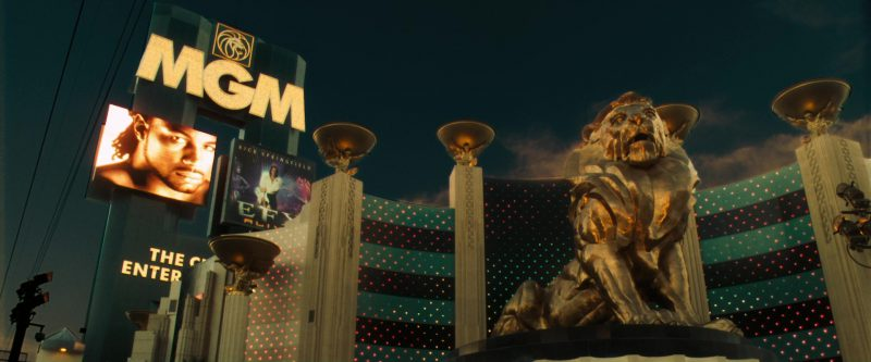 MGM Grand Las Vegas Hotel & Casino in Ocean's Eleven (2001) Movie Product Placement