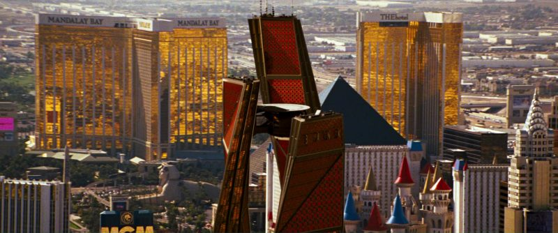 Mandalay Bay Resort and Casino and TheHOTEL in Ocean's Thirteen (2007) Movie Product Placement