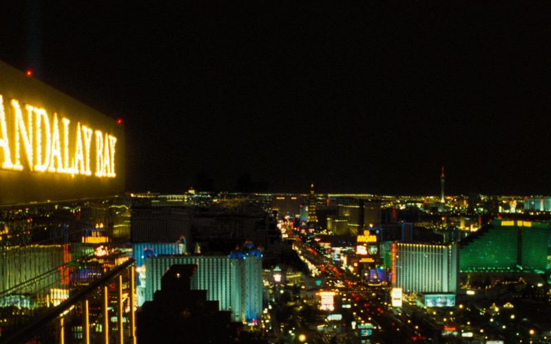 Mandalay Bay and MGM Grand in Ocean's Eleven