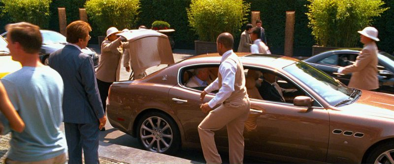 Maserati Quattroporte V Car in Ocean's Thirteen (2007) Movie Product Placement