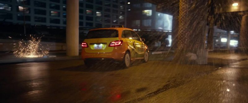 Mercedes-Benz B-Class [W246] Car in Geostorm (2017) Movie Product Placement