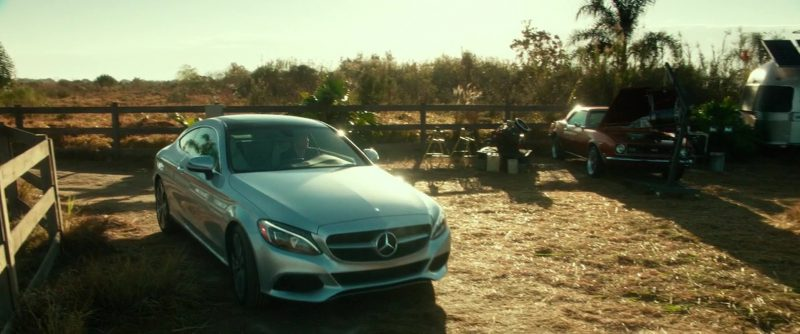 Mercedes-Benz C300 Coupé [C205] Car Used by Jim Sturgess in Geostorm (2017) Movie Product Placement