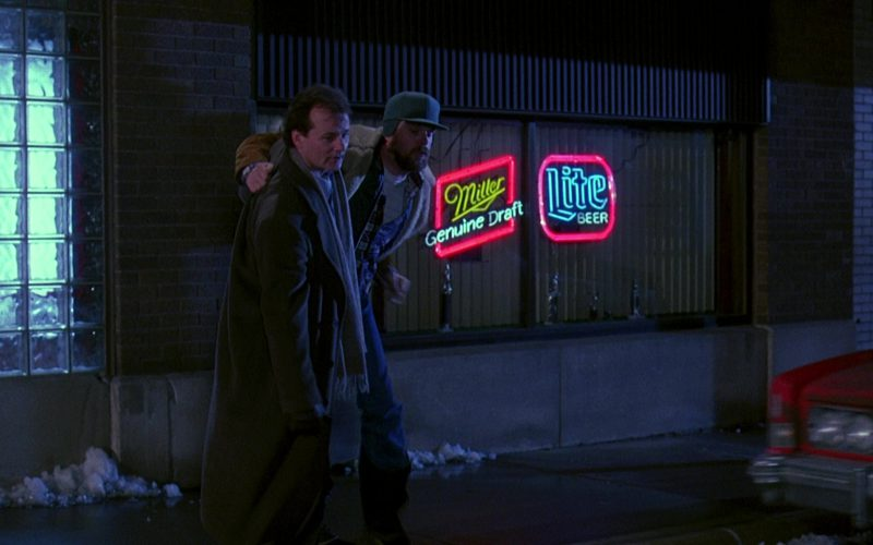 Miller Genuine Draft And Lite Beer Neon Signs in Groundhog Day (3)