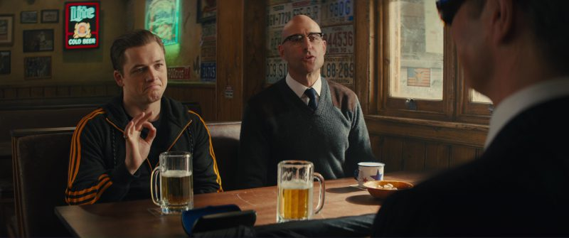 Miller Lite Beer Sign in Kingsman 2: The Golden Circle (2017) Movie Product Placement