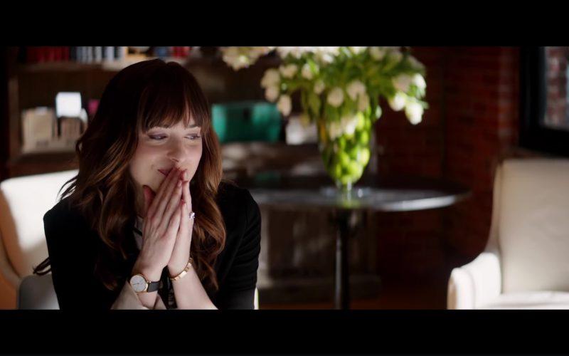 Montre Daniel Wellington W0508DW Watch Worn by Dakota Johnson (Anastasia Steele) in Fifty Shades Freed