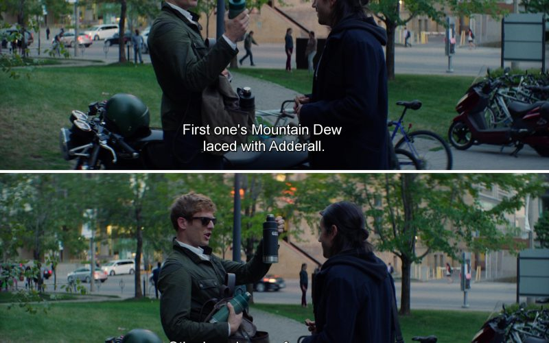 Mountain Dew and James Norton in Flatliners