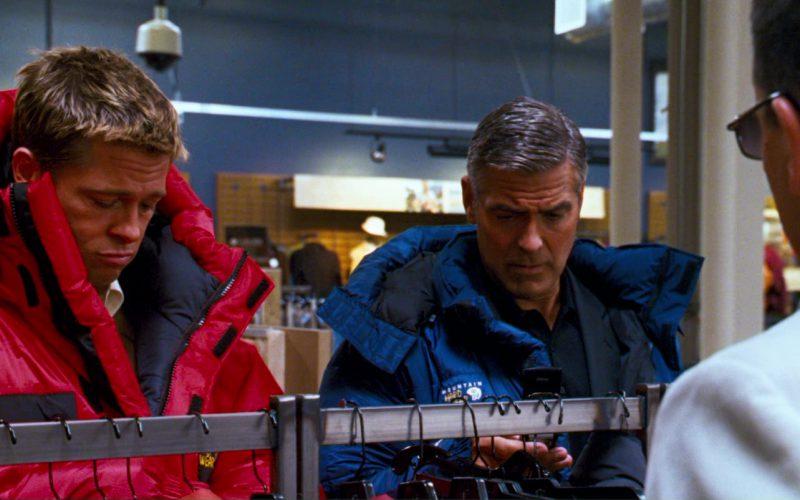 Mountain Hardwear Jacket And Verizon Phone Used by George Clooney in Ocean's Thirteen (1)