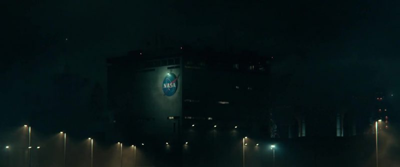 NASA in Geostorm (2017) Movie Product Placement