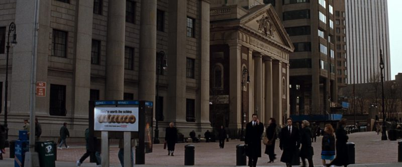 NYNEX, Dunkin' Donuts in The Devil's Advocate (1997) Movie Product Placement